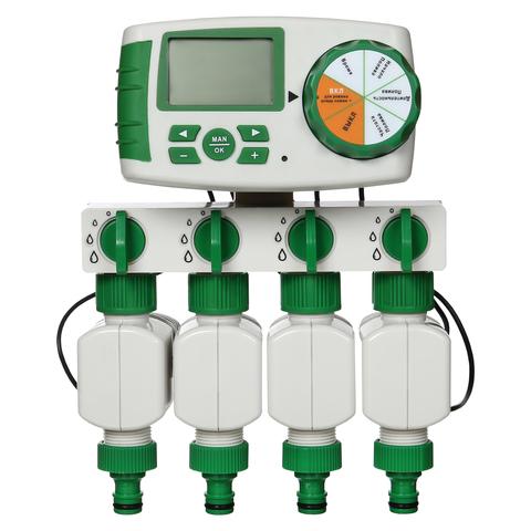 Четырех зонный комплект автоматического полива GA-325-4