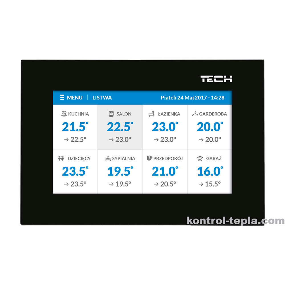 Контроллер TECH ST-8S WiFi  для радиаторного отопления