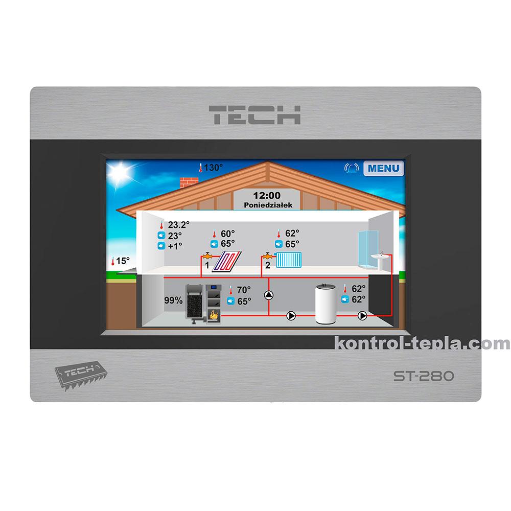 Комнатный терморегулятор TECH ST-280