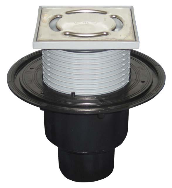 Трап DN 50/75/110 c запахозапирающим устройством «Primus», HL310NPr