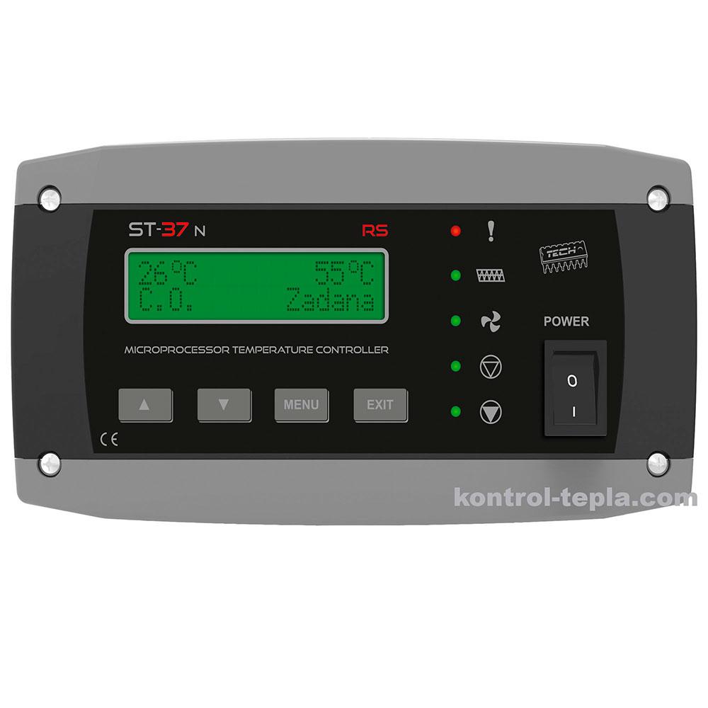 Контроллер для твердотопливного котла TECH ST-37n RS