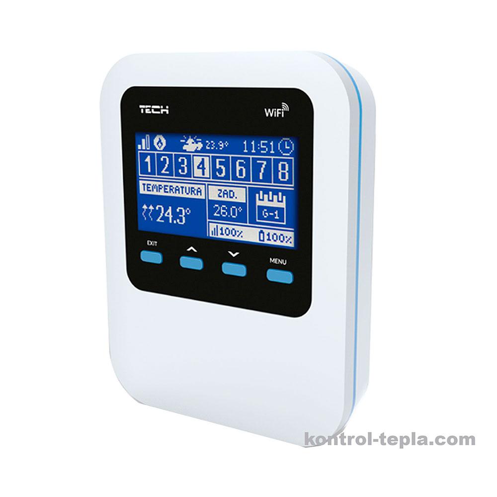 Контроллер TECH WiFi 8S для радиаторного отопления