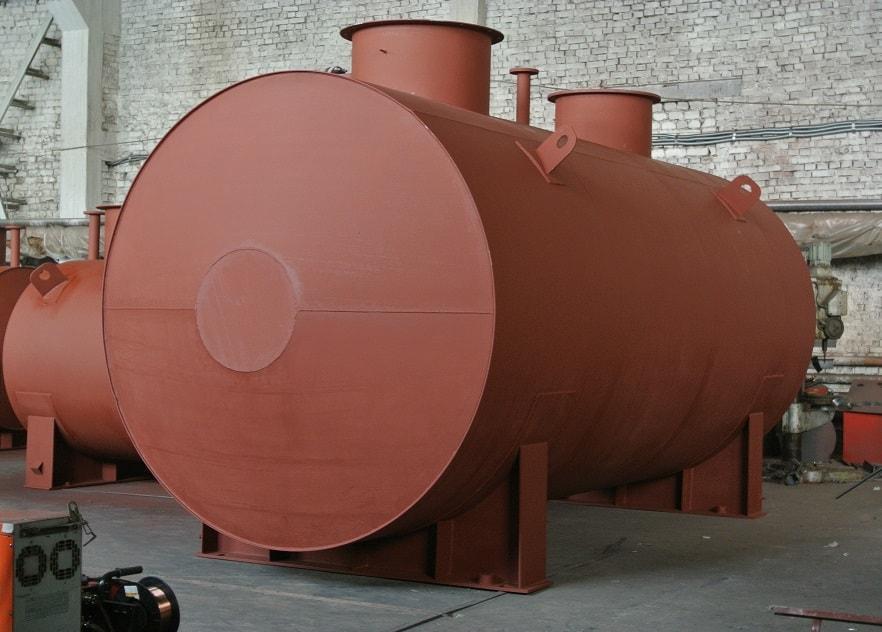 Резервуар горизонтальный стальной РГС-25