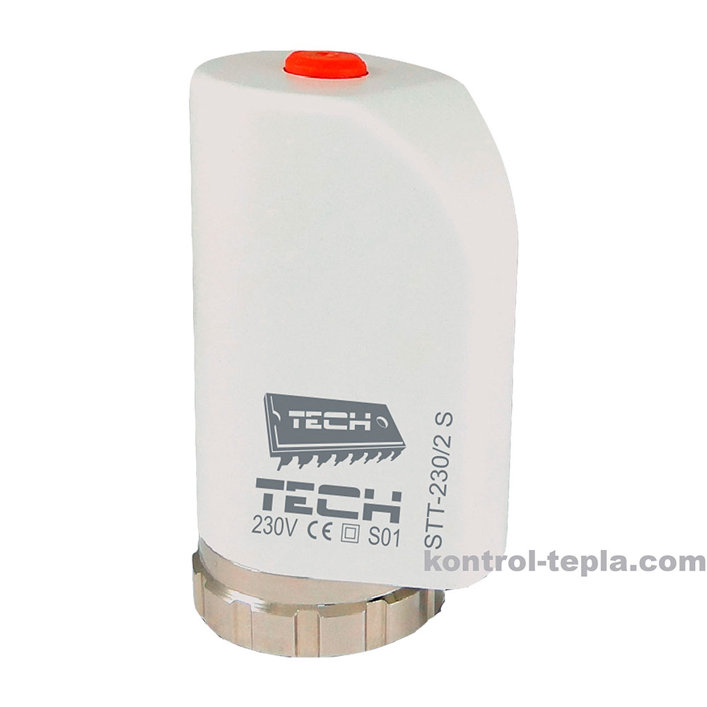 Термоэлектрический привод TECH STT-230/2s