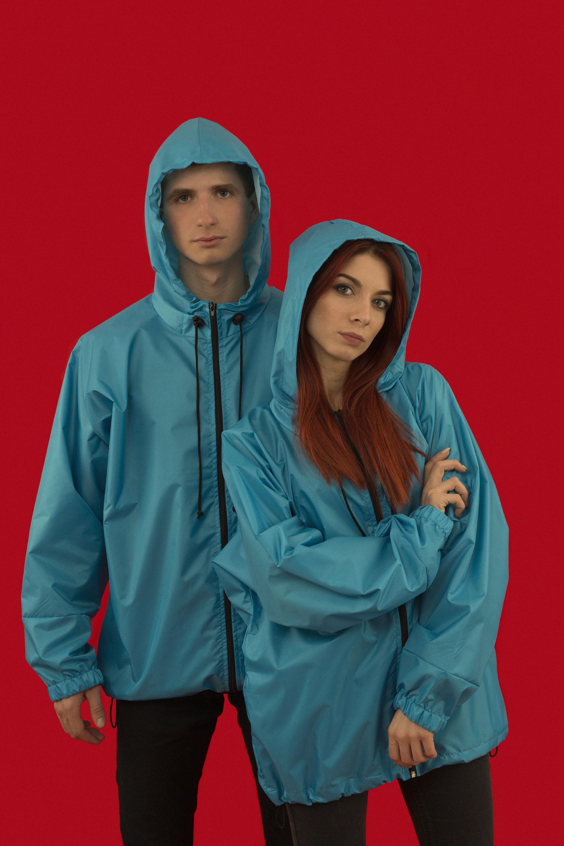 Куртка-ветровка на молнии
