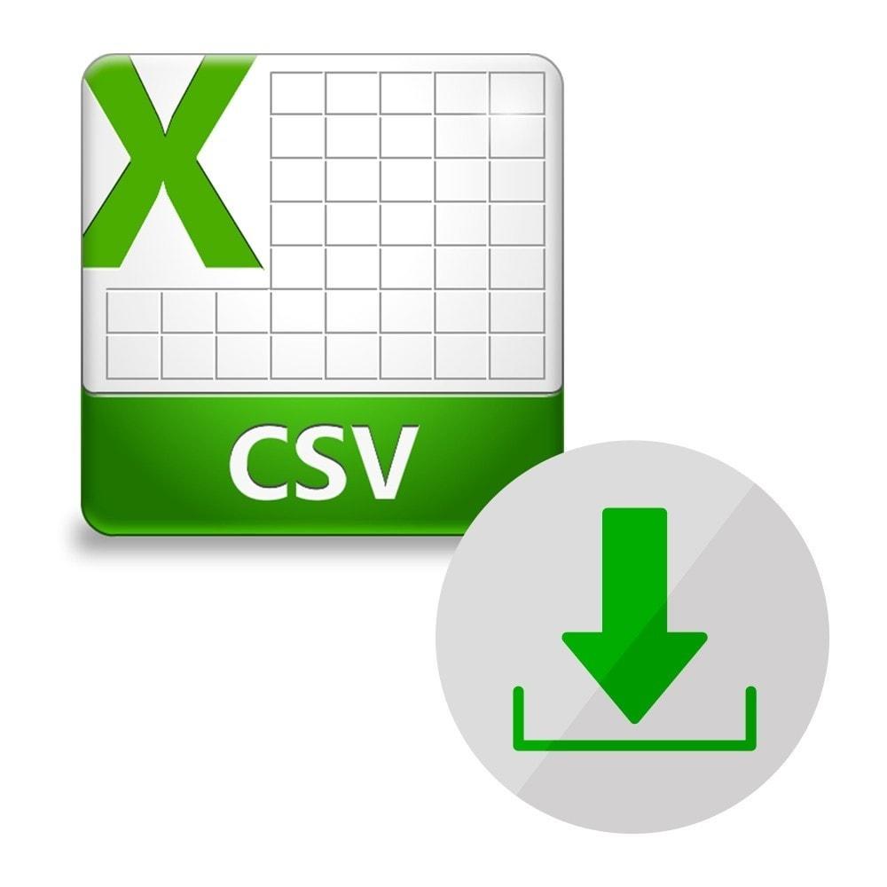 Настройка файла Импорт (Excel CSV)