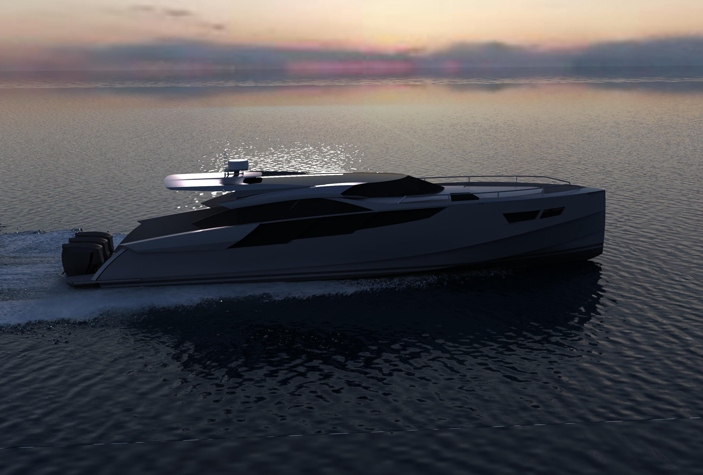 """Sea Wolf-45"" - алюминиевая моторная яхта"