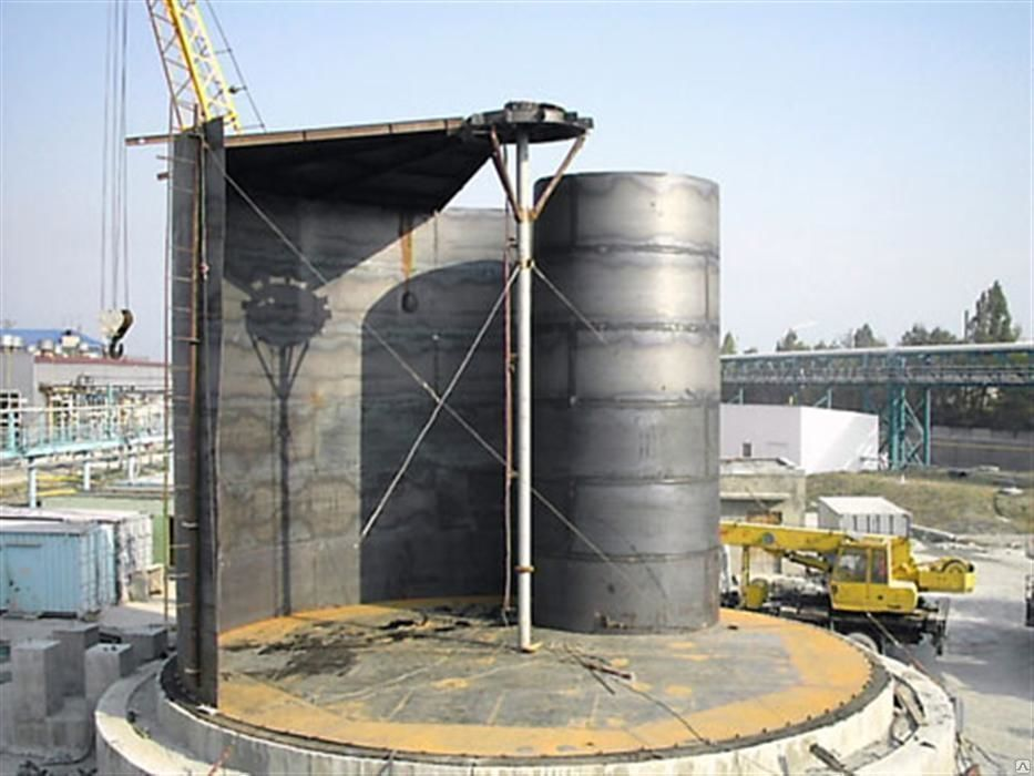 Резервуар вертикальный стальной РВС-300