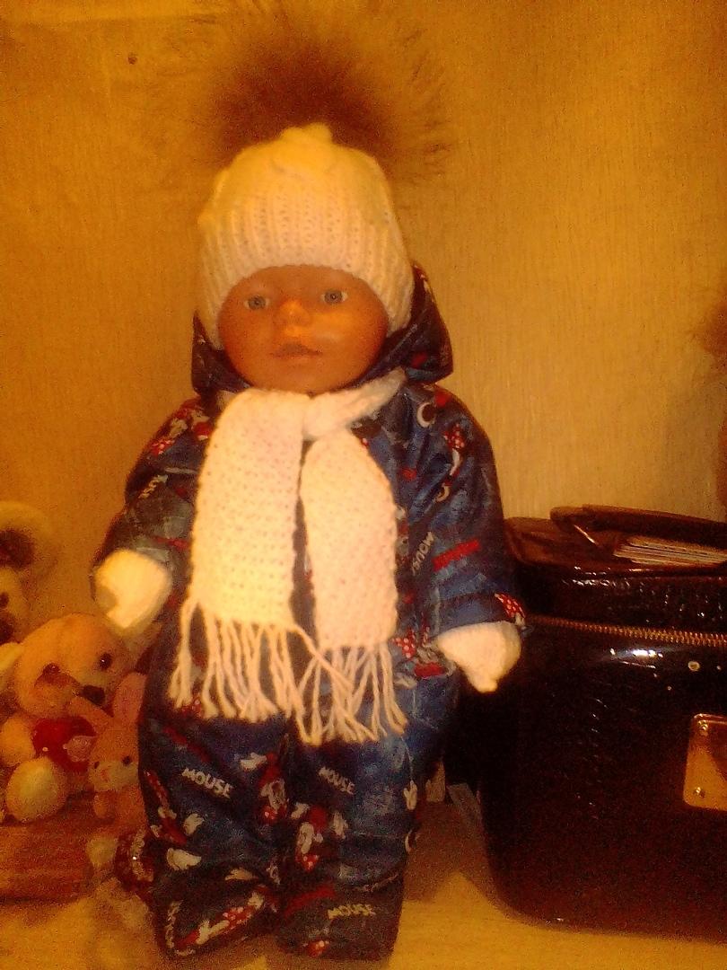 Комбинезон для куклы беби бон и других кукол ростом 40-45см