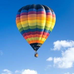 """Подарочный сертификат """"Полет на воздушном шаре в подарок"""""""