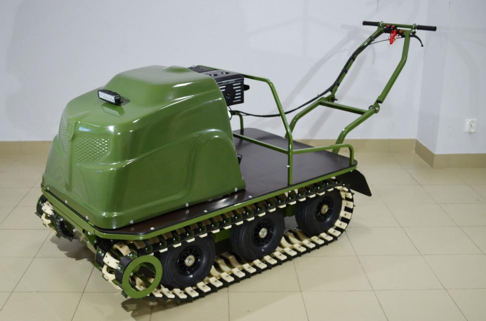 Всесезонный мотобуксировщик KOiRA T 15 (15 л/с) ручной стартер. По Акции!