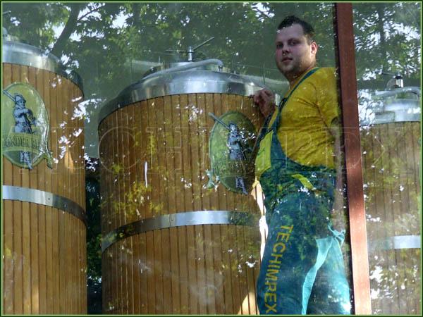 Мини пивоварни ресторанного типа 300;500;1000 л/cут BlonderBeer.