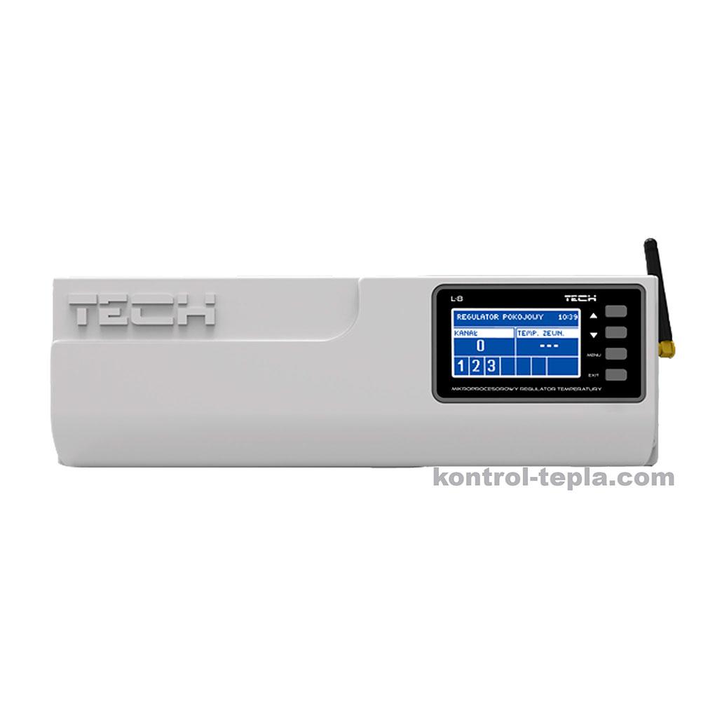 Контроллер TECH L-8e для напольного и/или радиаторного отопления