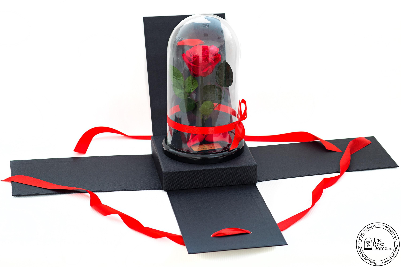 Подарочный набор - роза в колбе