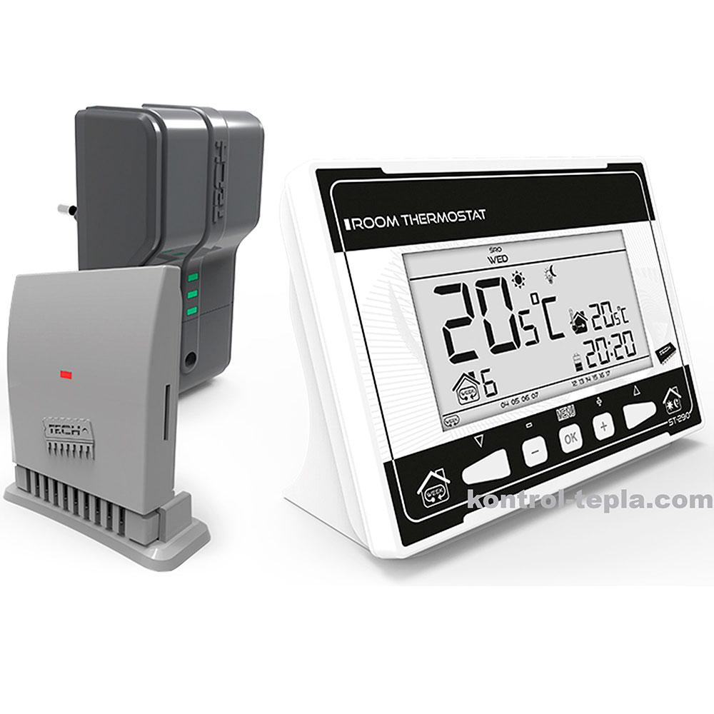 Комнатный терморегулятор TECH ST-290v2