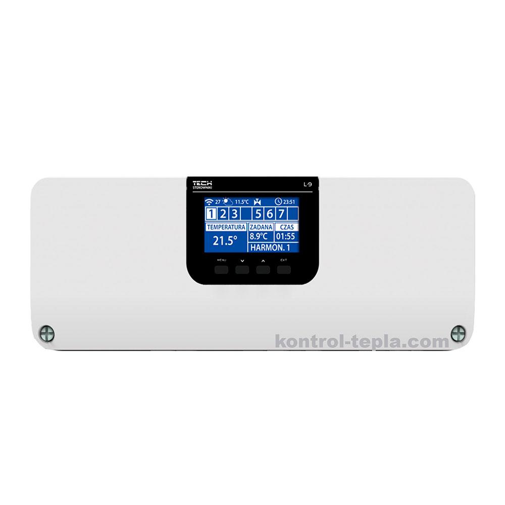 Контроллер TECH L-9 для напольного и/или радиаторного отопления