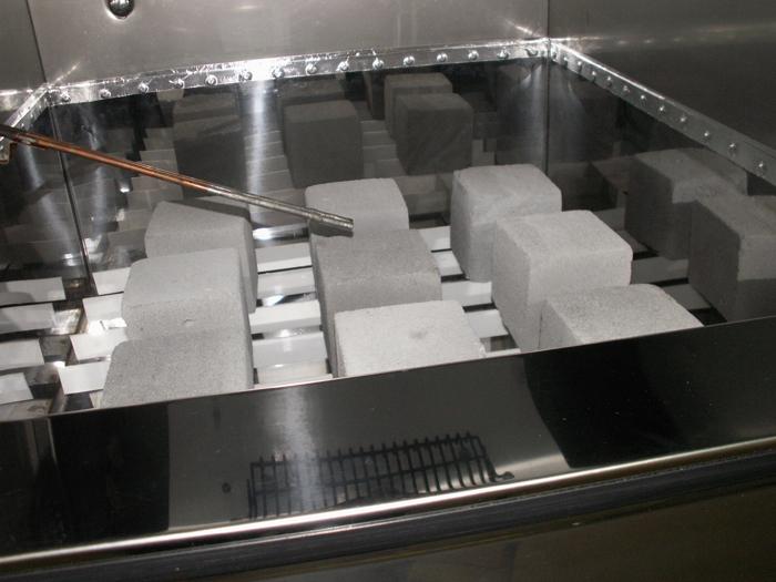 Испытание морозостойкости строительных материалов