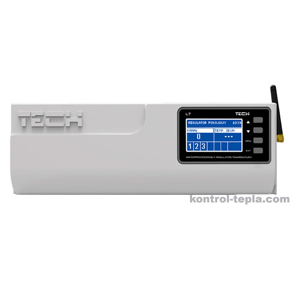 КонтроллерTECH L-7 для напольного и/или радиаторного отопления