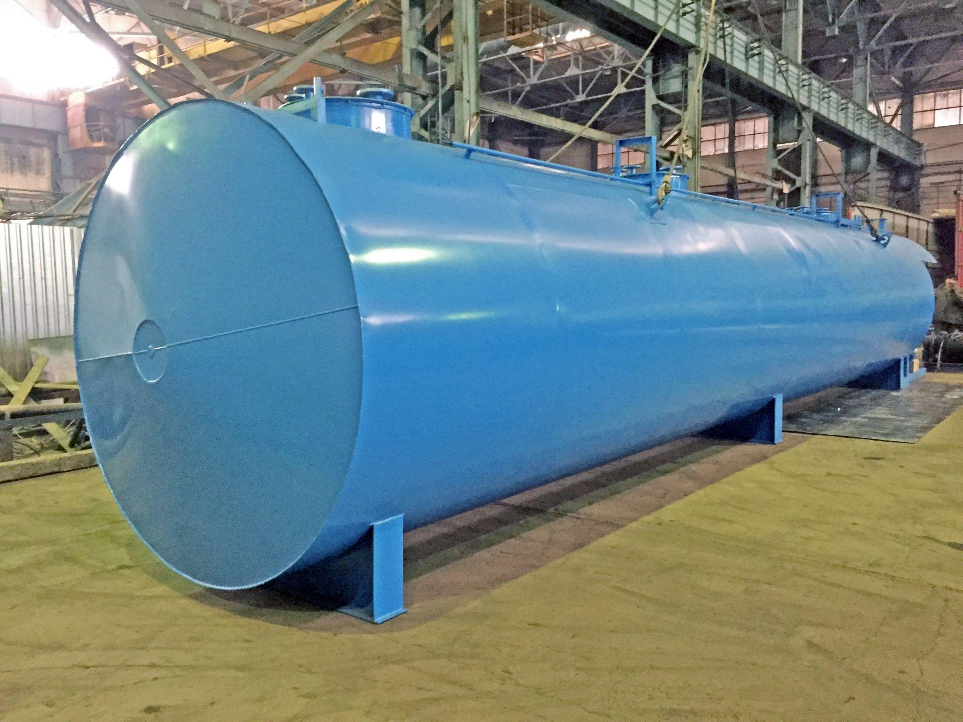 Резервуар горизонтальный стальной РГС-15