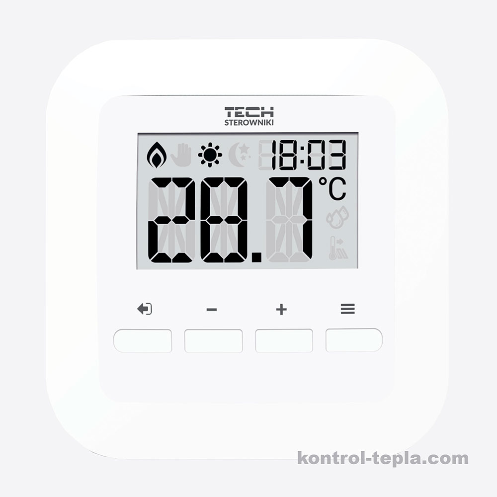 Комнатный терморегулятор TECH R-9S