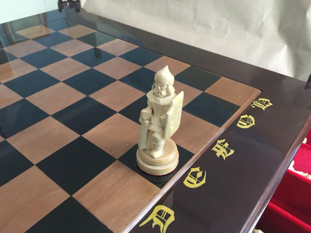 Шахматы ручной работы на заказ