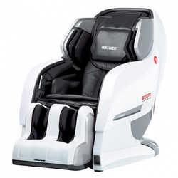 Массажное кресло Yamaguchi YA-6000 Axiom (бело-черное)