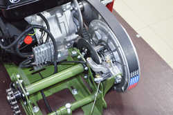 Всесезонный мотобуксировщик KOiRA T15E PRO General (15 л/с) электростартер, мотор Lifan PRO серии.