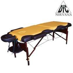 """Массажный стол DFC NIRVANA Relax """"горчичный с коричневым"""""""