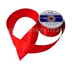 Красная ленточка/лента атласная