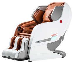 Массажное кресло Yamaguchi YA-6000 Axiom (бело-рыжее)