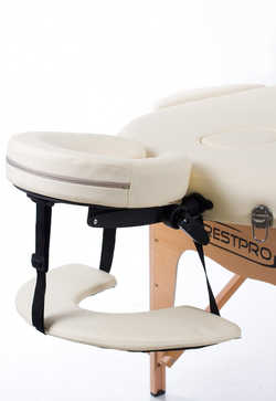Складной массажный стол (кушетка) RESTPRO® Classic Oval 3 Cream