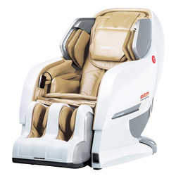 Массажное кресло Yamaguchi YA-6000 Axiom (бело-бежевое)